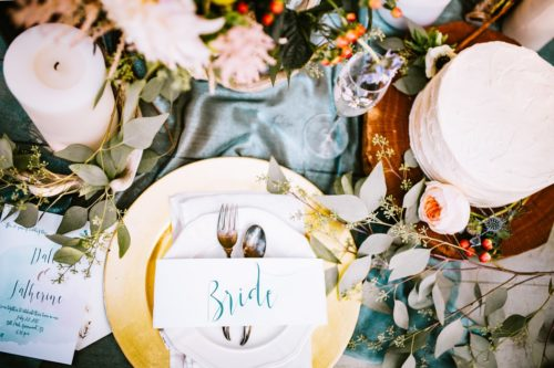 結婚式の準備
