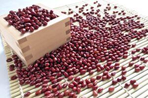 いっぱいの小豆